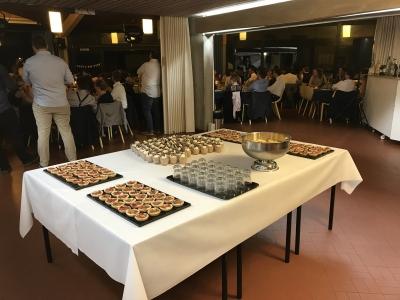 Buffet de desserts Louverain